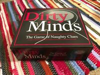 Dirty Minds Boardgame New
