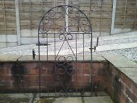 Bow top single garden gate