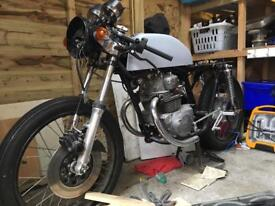 Honda CB200 cafe racer project