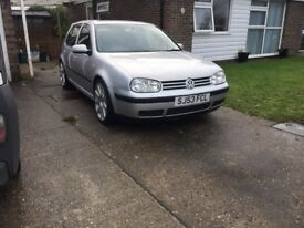 Immaculate great spec and history golf for sale/swap!