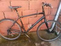 Specialized hybrid bike.