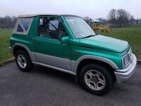 Suzuki Vitara 1998 4u2 Soft Top Green