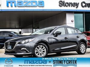 2015 Mazda MAZDA3 SPORT GS AUTO,NEW R/BRAKES,RMT STR,HEATED+B/UP