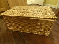 Large Wicker Baskets - great for ; christmas hampers, children's toy storage or to store firewood