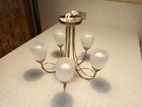 Ceiling Light Fitment - 5 Lights