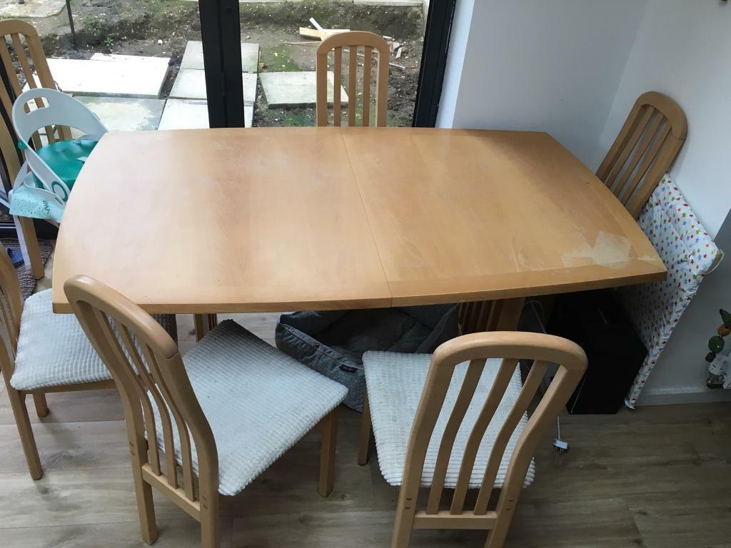 Skovby 19 Extendable Dining Table No Chairs
