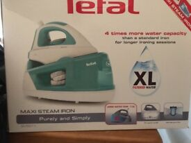 Brand new tefal steam generator iron