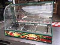 RESTAURANT COMMERCIAL CAFE CANTEEN CAFETERIA SHOP DISPLAY CABINET UNIT FASTFOOD HOT WARMER CATERING