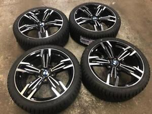 """18"""" BMW Wheels 5x120 and Winter Tire Package 225/40R18 (BMW 3 Series Cars) Calgary Alberta Preview"""