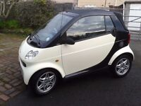 smart for two cabrio mot october 2017 £30 road tax