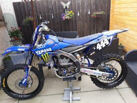 Yamaha YZF 250 2015 with loads of extras for £3300