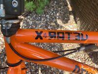 BMX Bike X-Rated Orange - Boys Bike