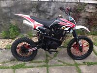 250cc Ghost Pit Bike Runs And Rides Mint £450 Offers