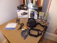 Samsung QF20 Camcorder Boxed - Black WI-FI CONNECTED WITH BOX