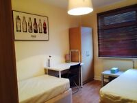 BRAND NEW DOUBLE/TWIN ROOM AVAILABLE, 5 MNTS WALK CUSTOM HOUSE DLR, 10 MNT CANNING TOWN, DOCKLANDS,H