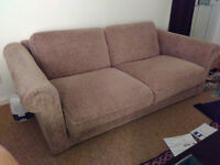 Two-seater sofa bed