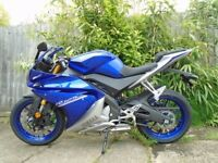 Yamaha YZF 125 Blue - Mint condition 8 months old