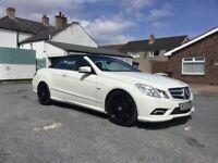 2011 Mercedes - Benz E200 Convertible , Diamond White ,