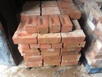 "Leicester reds oversized fire bricks 9.5""x4.5""x3"""
