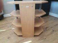 Wooden T.v stand
