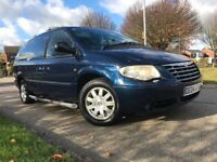7/8 SEATER FAMILY CAR CHRYSLER GRAND VOYAGER 2.8 CRD DIESEL AUTOMATIC 2004-REG,MILAGE 72k 8 SEATER