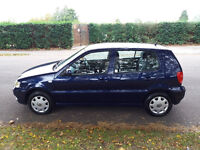 Volkswagen Polo Match 1.4 cc Hatchback, Manual, 1 Owner MOT - March 29 2017, Full service history