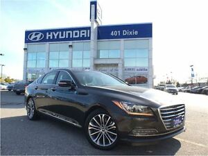 2016 Hyundai Genesis 3.8 PREMIUM AWD|LEATHER|PANO ROOF|NAVI