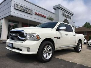 2016 Ram 1500 LIMITED,ECODIESEL,LEATHER,20'S LOADED