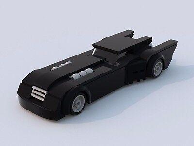 Custom Lego Batman Animated Series Batmobile Lxf File And
