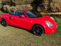 Toyota MR2 Roadster '03 VVTI 1000s spent MINT showroom paint & wheels lady owner