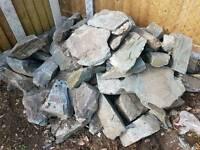 Large slate rocks