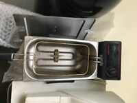 Caterlite Commercial Fryer Countertop Single tank 3.5 litres 2kW . Fully Working