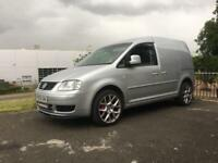 VW CADDY 1.9 TDI - MODIFIED BIG SPEC STAGE 1 VAN LEATHER TRANSPORTER CONNECT