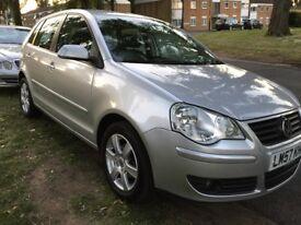 2008 Volkswagen Polo 5 door, 1.2 petrol . Low mileage (2005 2006 2007 2008 2009 ) vw