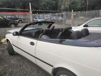 SAAB 900s non turbo convertible. 2.0 Manual. 1997. MOT expired 110000