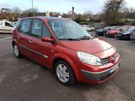 2006**Renault Scenic 1.5 dCi Dynamique 5dr**Long MOT**