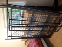 Bed frame, metal, double.
