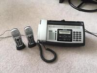 Philips Answer Phone with 2 Remotes