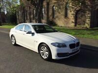 2015 BMW 5 SERIES 520D SE 2.0 DIESEL, SAT NAV, HEATED LEATHER SEATS, CRUISE, BLUETOOTH