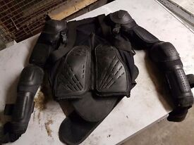 Motorcross armour