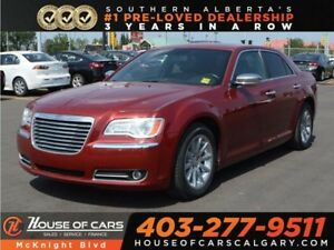 2012 Chrysler 300 Limited / Leather / Sunroof / Bluetooth