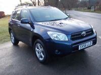 2006 56 TOYOTA RAV 4 2.2 D4-D XT3 DIESEL 4X4 6 SPEED MOT FEBRUARY 2018