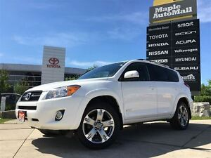 2012 Toyota RAV4 SPORT PKG AWD - 1 OWNER LEATHER MOONROOF TOYOTA