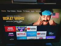 """39""""LG LCD TV comes with free Amazon Fire stick"""