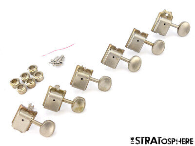 NEW Ping Vintage TUNERS for Fender Strat Tele Nickel Relic Aged! SPEC-S1-NR