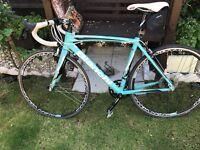 Bianchi road racing bike good condition