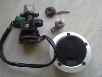 suzuki sv 650 1000 k4 full lock set one key fits all, gsxr1000 k1 2
