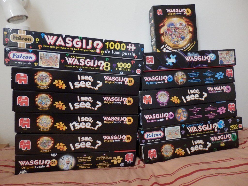 Bundle of 16 WASGIJ jigsaws