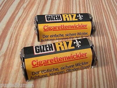 """Original """" Gizeh RIZ """" Zigaretten Chrom Stopfmaschine 70/80er Zigarettenstopfer"""