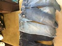 3 pairs of brand name jeans